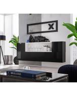 Väggmonterad sideboard Blox SB II