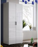 Modern garderob Krone Vit i snygg design.