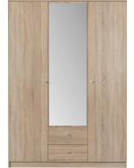 Garderob Optimo 2 Ek sonoma
