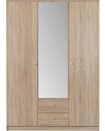 Garderob 150 Spegel OPTIMO 2 - Europa möbler billigt online