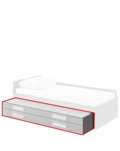 Undersäng med madrass & förvaring Play PL-19