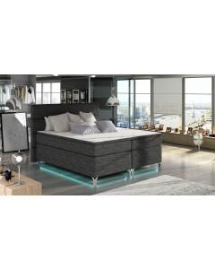 Łóżko kontynentalne & LED Amadeo