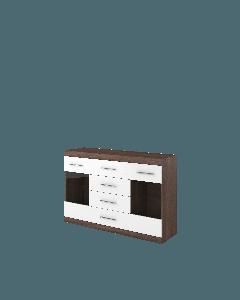 Skänk 2w4s Bordo BO-08K+F - Europa möbler billigt online