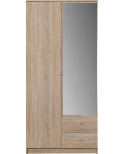 Garderob Optimo 3 Ek sonoma