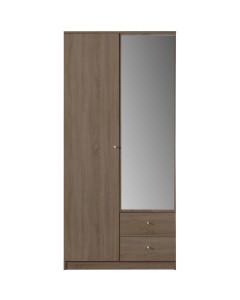 Garderob 100 Spegel OPTIMO 3